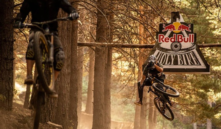 THE RED BULL HOLY BIKE WAS A GREAT SUCCESS
