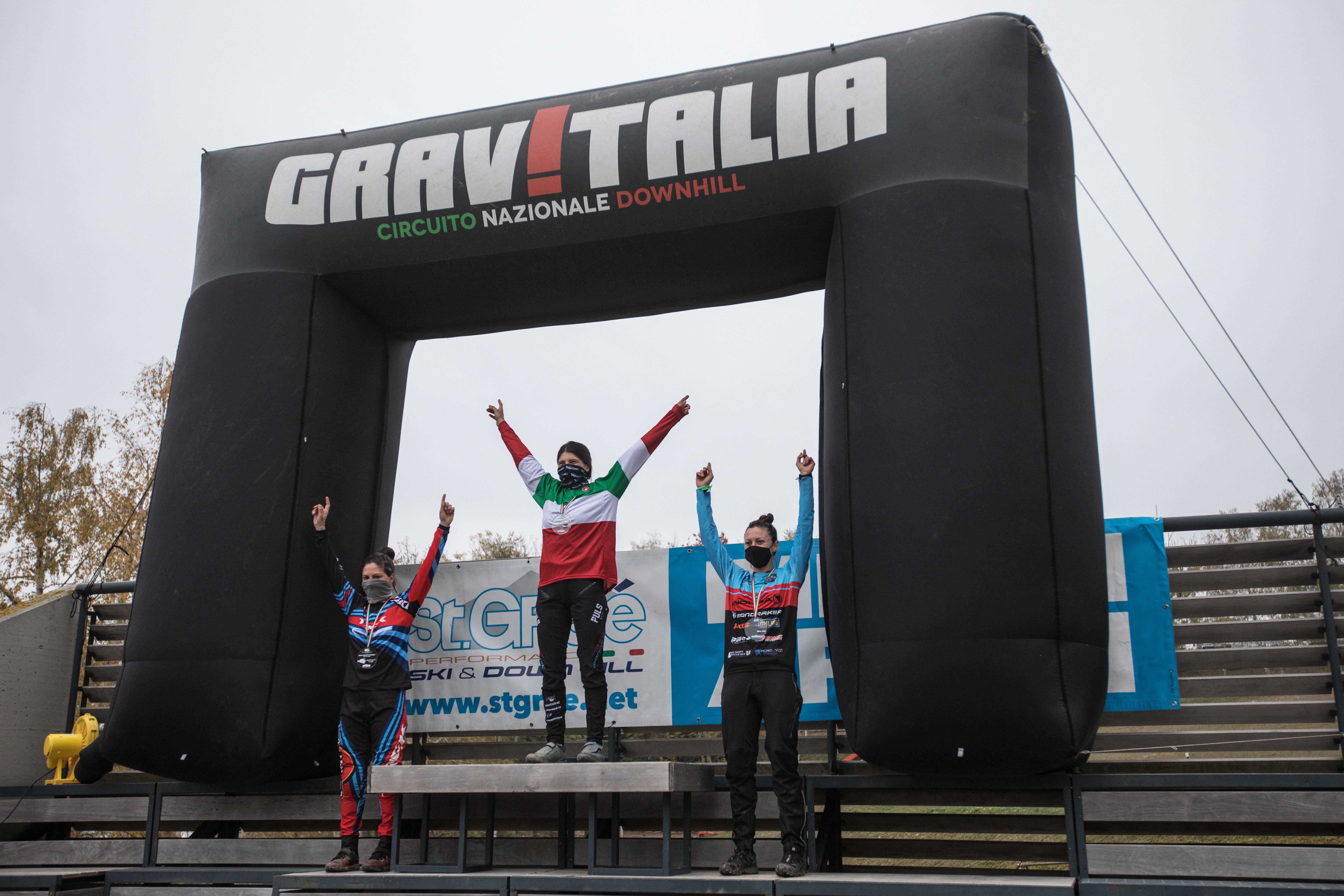 Eleonora is Italian DH national champ again!
