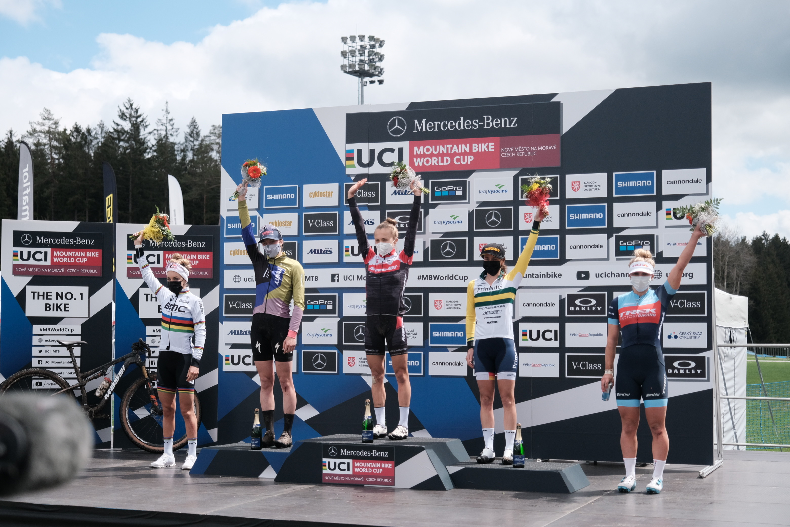 Bec is back on the podium in Nove Mesto!