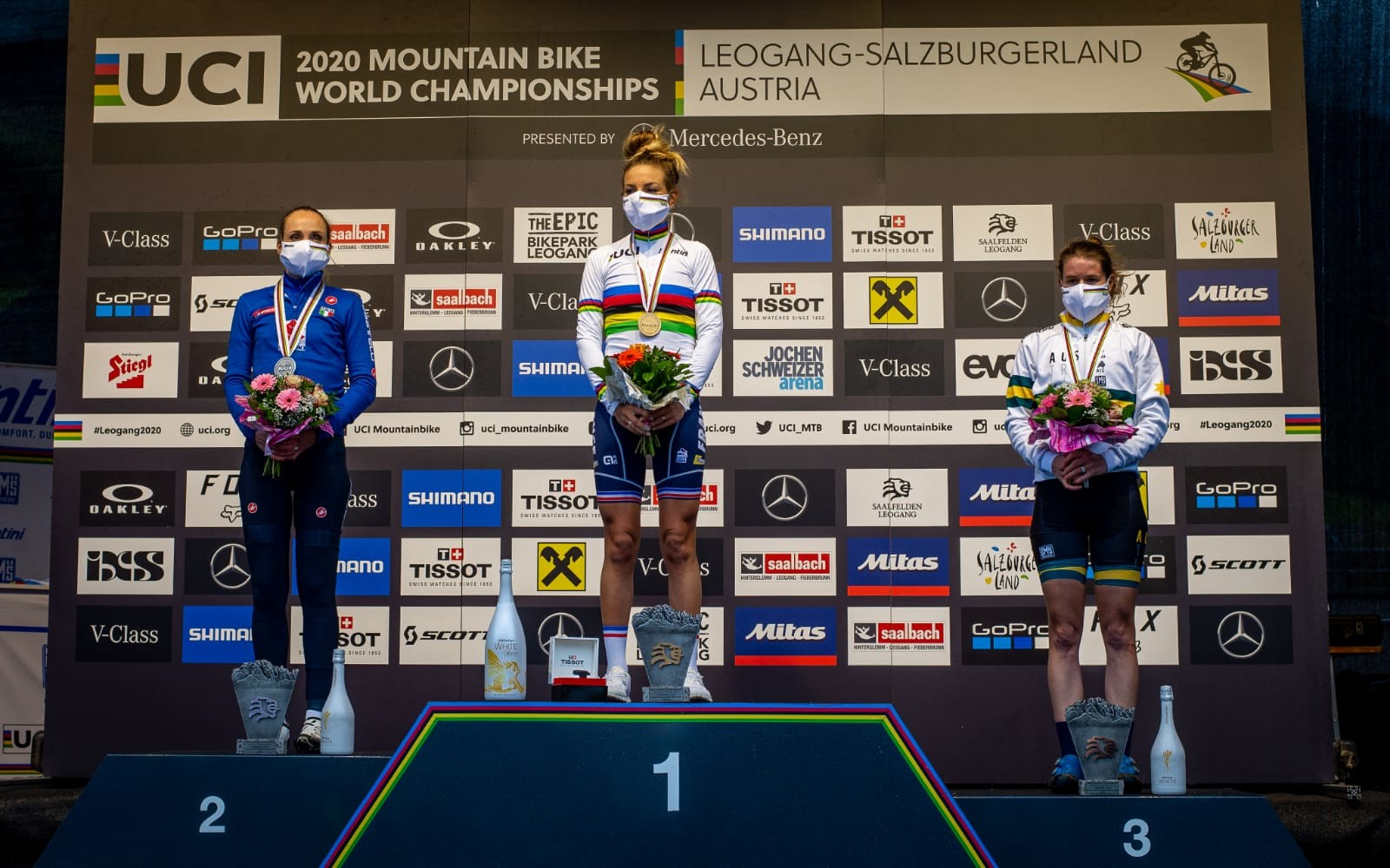 What a Worlds! Podium for Rebecca McConnell!