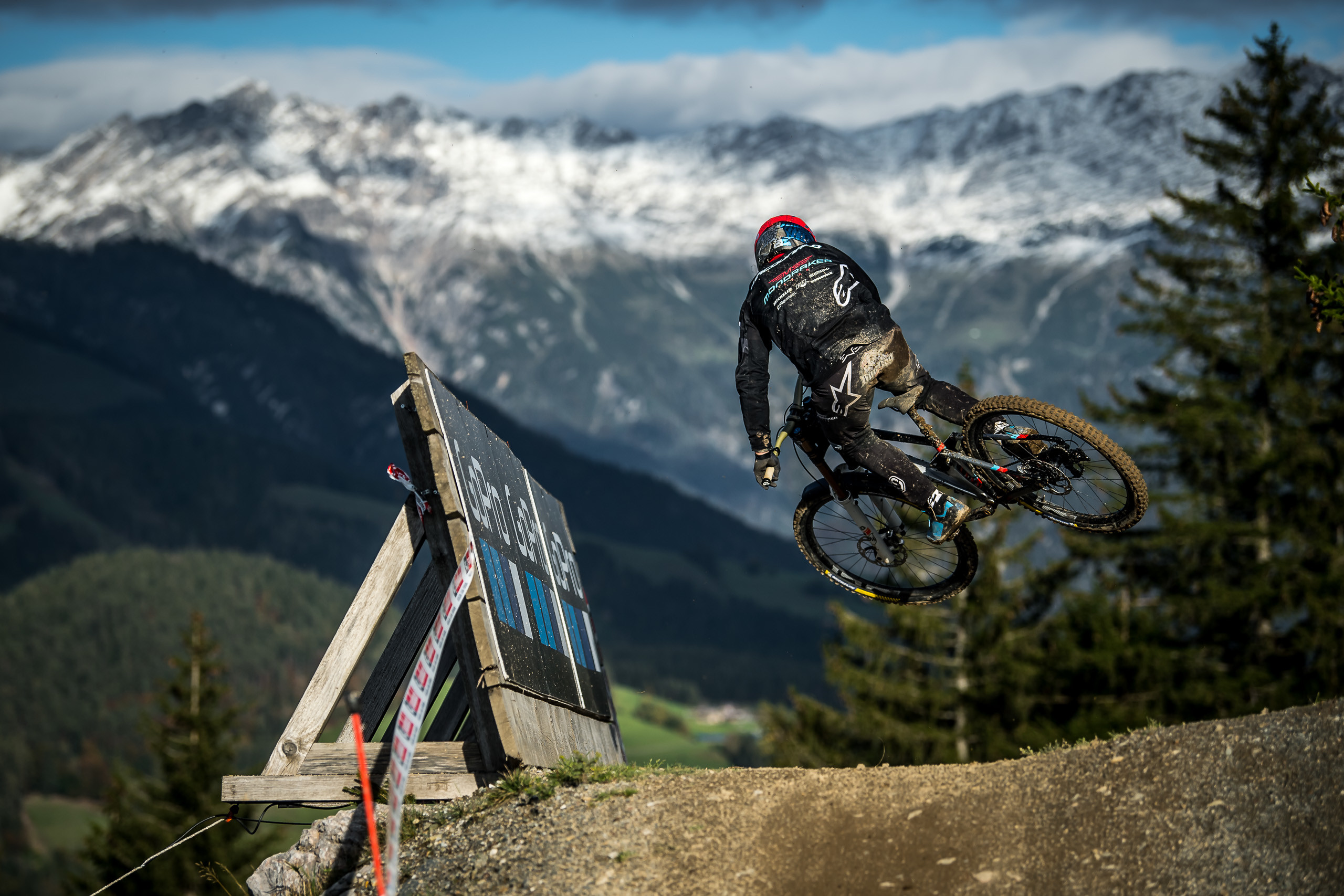All set for Slovenia! Maribor DH World Cup coming next…